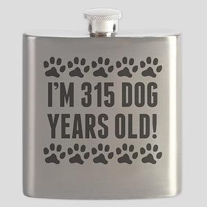 Im 315 Dog Years Old Flask