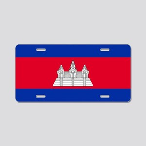 Flag of Cambodia Aluminum License Plate