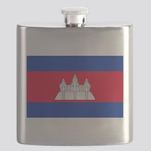Flag of Cambodia Flask