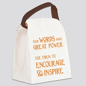 INSPIRE Canvas Lunch Bag