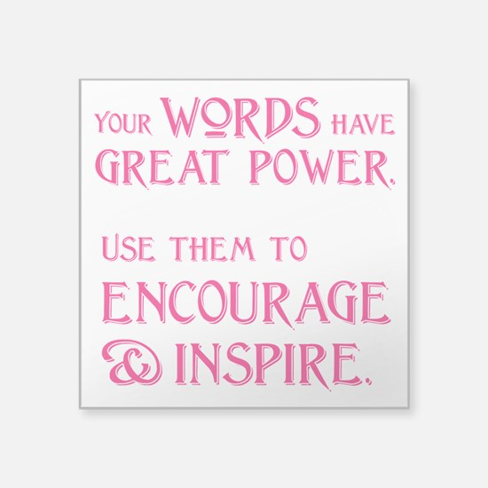 "INSPIRE Square Sticker 3"" x 3"""