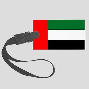 United Arab Emirates Flag Luggage Tag