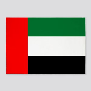 United Arab Emirates Flag 5'x7'area Rug