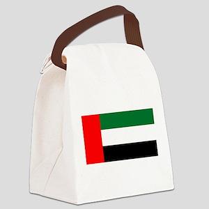 United Arab Emirates Flag Canvas Lunch Bag