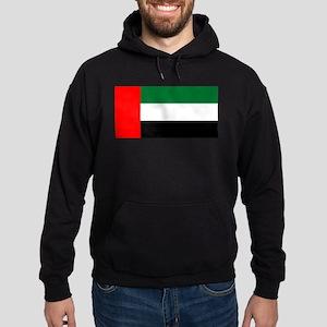 United Arab Emirates Flag Hoodie (dark)