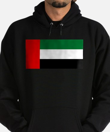 United Arab Emirates Flag Hoodie (dark)