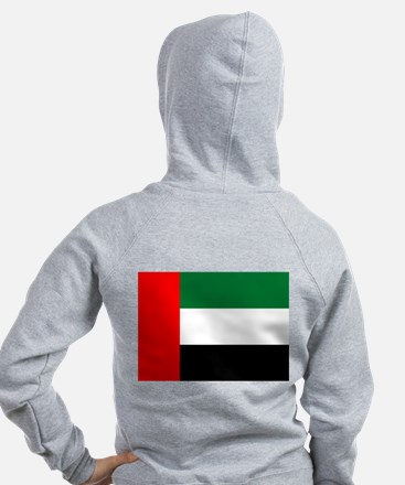 United Arab Emirates Flag Zipped Hoody