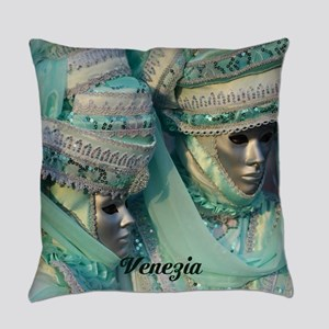 Fancy Dress Couple Everyday Pillow