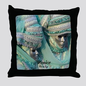 Fancy Dress Couple Throw Pillow