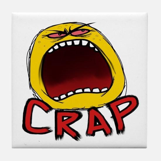 Crap! Tile Coaster