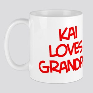 Kai Loves Grandpa Mug