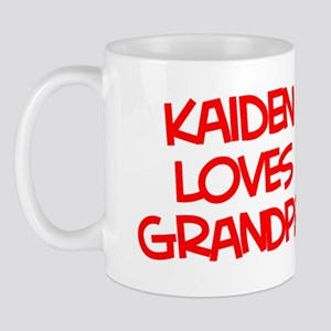 Kaiden Loves Grandpa Mug