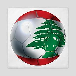 Lebanese Soccer Queen Duvet