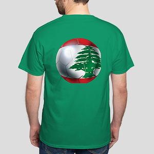 Lebanese Soccer Dark T-Shirt
