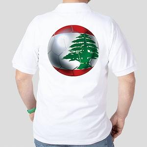 Lebanese Soccer Golf Shirt