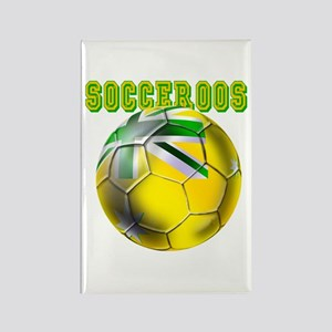 Australia Socceroos Rectangle Magnet