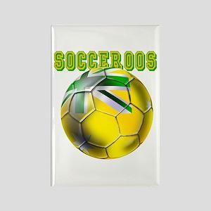 Australia Socceroos Rectangle Magnet