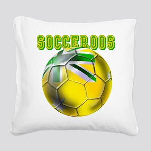 Socceroos Football Square Canvas Pillow