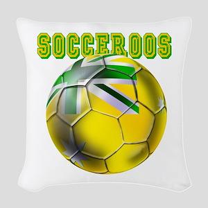 Socceroos Football Woven Throw Pillow