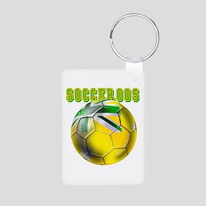 Australia Socceroos Aluminum Photo Keychain