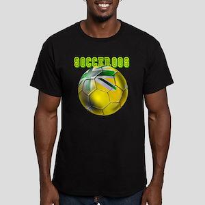 Australia Socceroos Men's Fitted T-Shirt (dark)