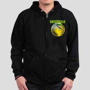 Australia Socceroos Zip Hoodie (dark)