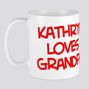 Kathryn Loves Grandpa Mug