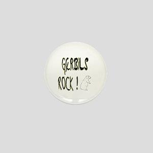 Gerbils Rock ! Mini Button