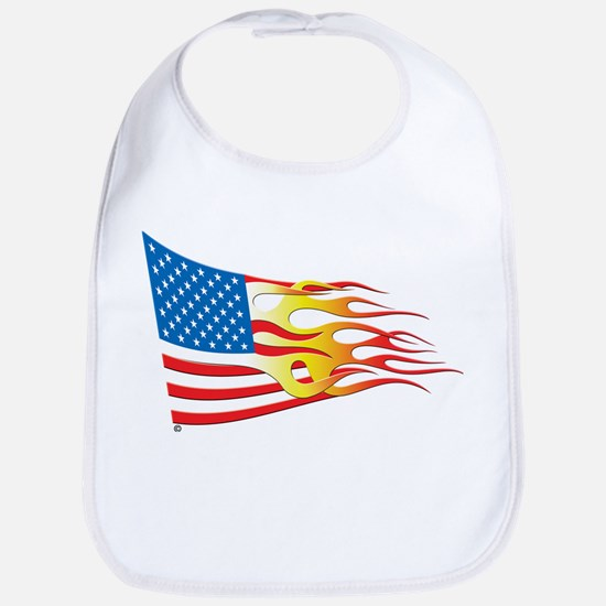 Hot Rod Flag Bib
