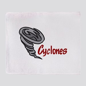 TEAM CYCLONES Throw Blanket