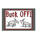 Goat Buck OFF Postcards (Package of 8)