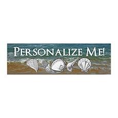 Customized Original Seashell Beach Art Wall Decal