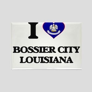 I love Bossier City Louisiana Magnets