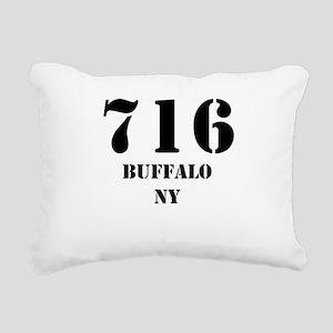 716 Buffalo NY Rectangular Canvas Pillow