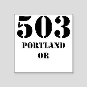 503 Portland OR Sticker