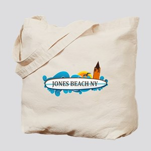 Amelia Island - Beach Design. Tote Bag