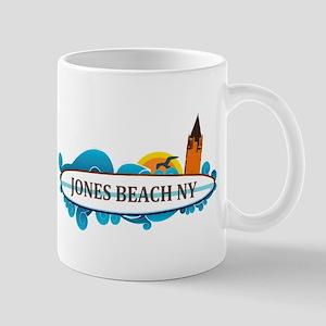 Amelia Island - Beach Design. Mug Mugs
