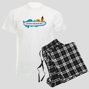 Amelia Island - Beach Design. Men's Light Pajamas