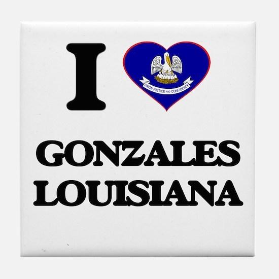 I love Gonzales Louisiana Tile Coaster