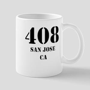 408 San Jose CA Mugs