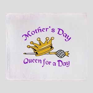 MOTHERS DAY Throw Blanket