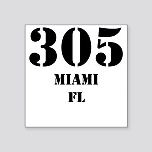 305 Miami FL Sticker