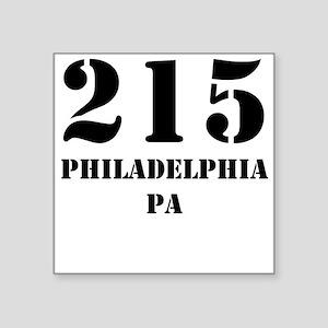 215 Philadelphia PA Sticker
