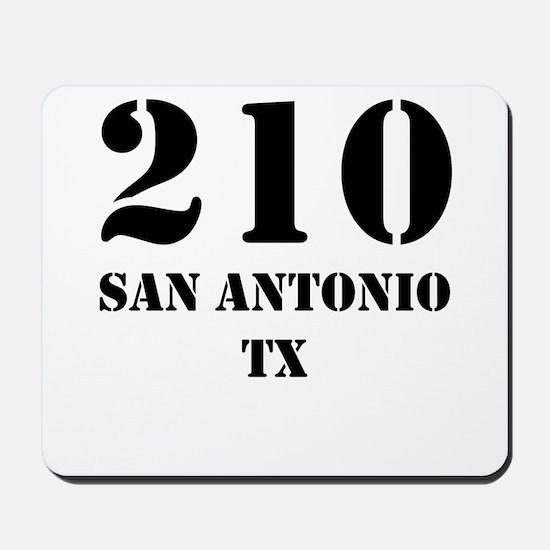 210 San Antonio TX Mousepad