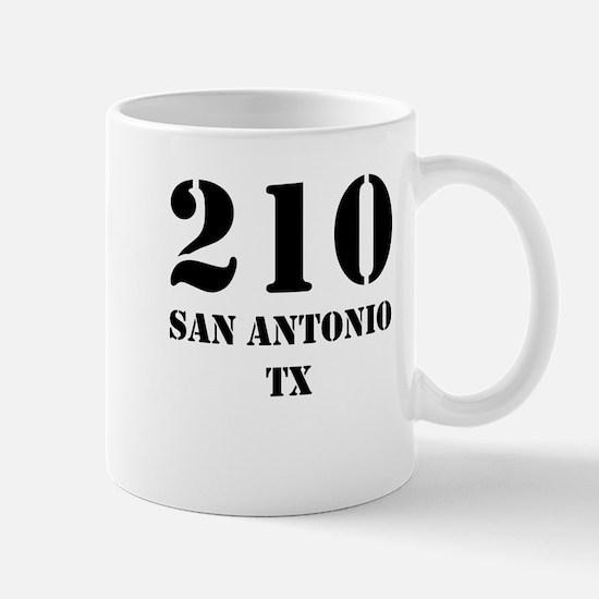 210 San Antonio TX Mugs