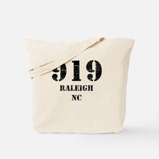 919 Raleigh NC Tote Bag