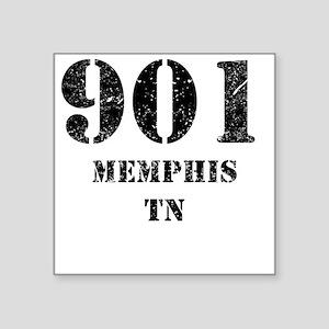 901 Memphis TN Sticker