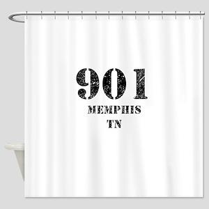 901 Memphis TN Shower Curtain