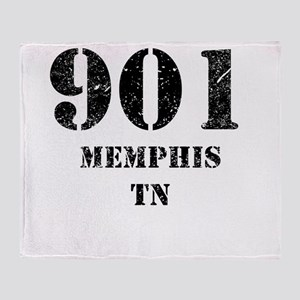 901 Memphis TN Throw Blanket