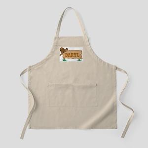 Daryl western BBQ Apron